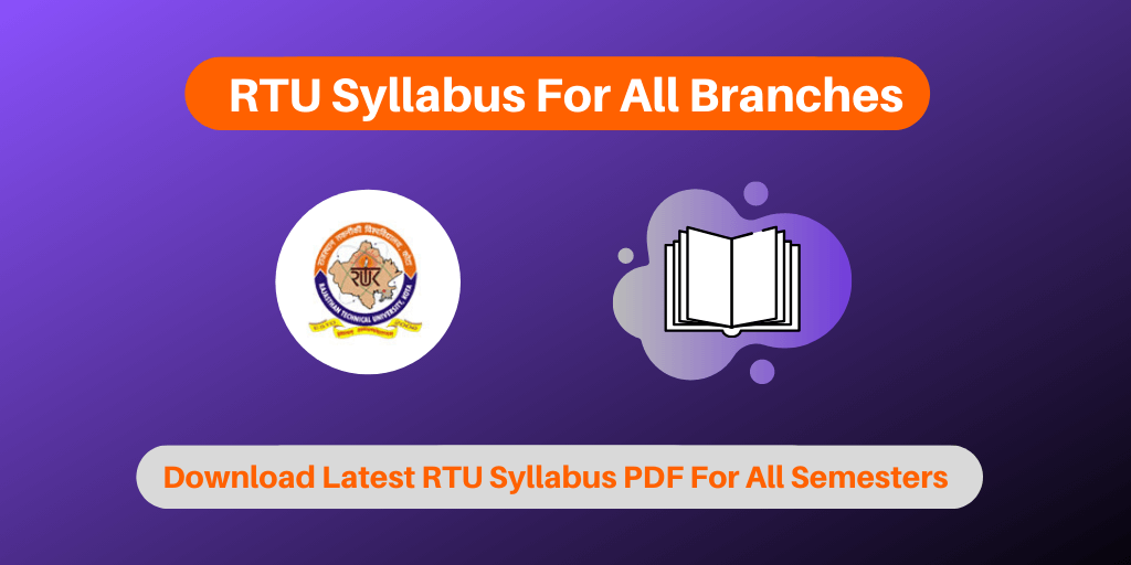 RTU Syllabus For All Branches
