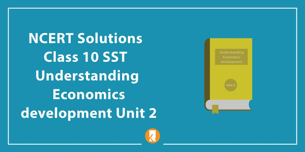NCERT Solutions Class 10 SST Understanding Economics development Unit 2