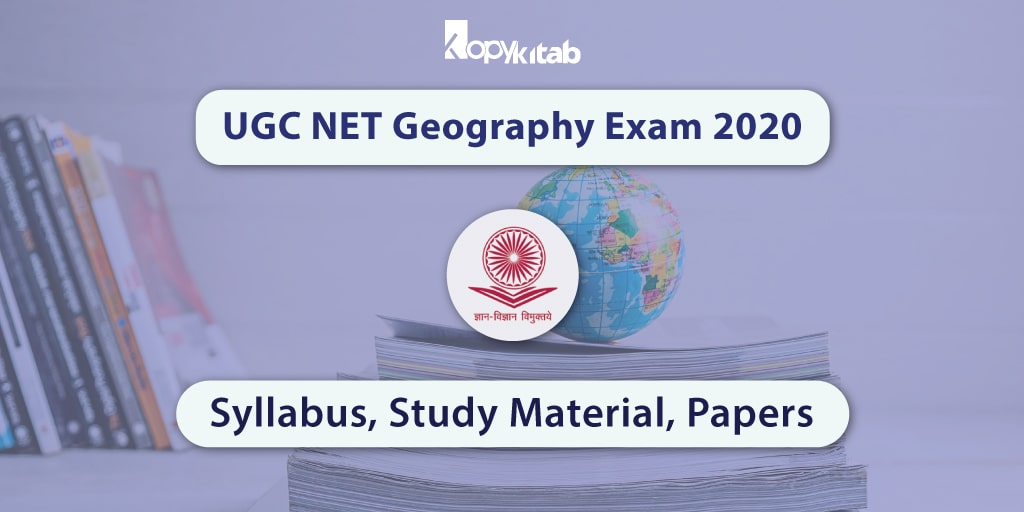 UGC NET Geography Exam