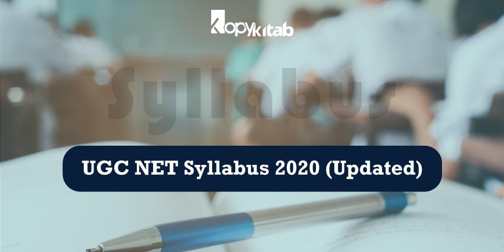 UGC NET Syllabus 2020