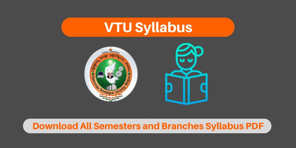 VTU Syllabus