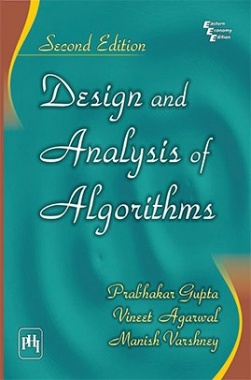 design and analysis of algorithms by gupta et al