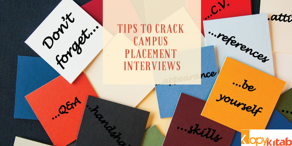 Tips to Crack Campus Placement Interviews