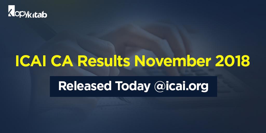 ICAI CA Result