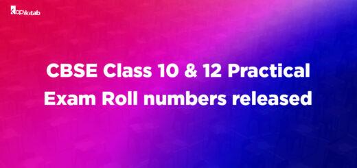 CBSE Class 10 and 12