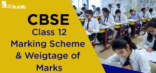 CBSE Class 12 Marking Scheme