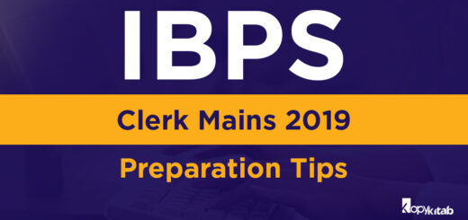 IBPS Clerk mains 2019 Preparation Tips