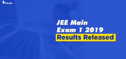 JEE Main Result 2019 Exam 1 Released