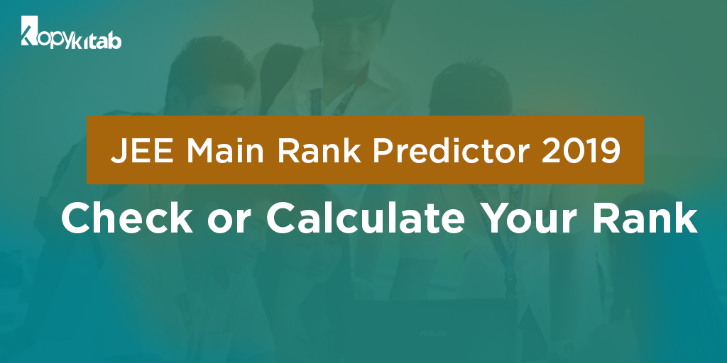 JEE Main Rank Predictor 2019