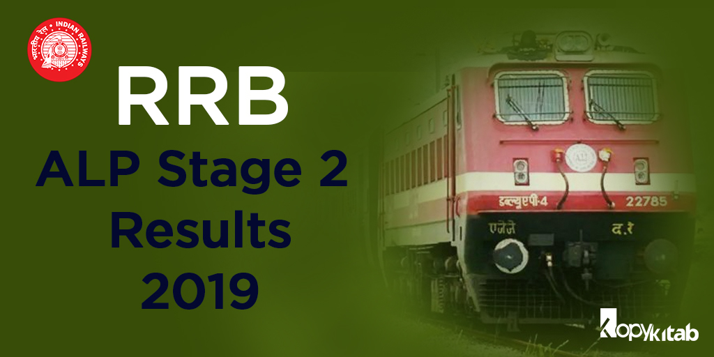 RRB ALP Stage 2 Results 2019