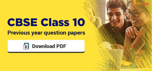 CBSE Class 10 previous year Question Papers