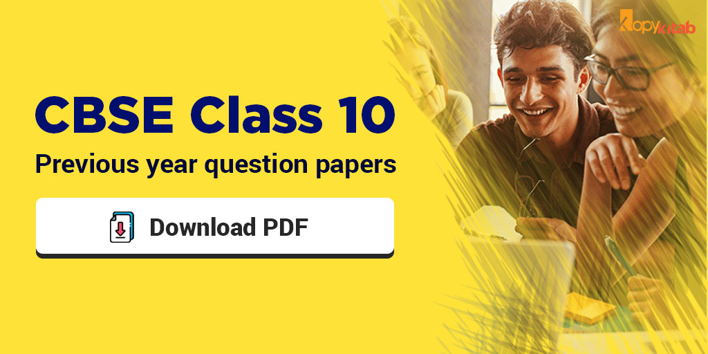 Cbse Previous Year Question Papers Class 10 Pdf