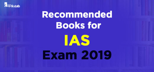 Recomended IAS Preparation Books