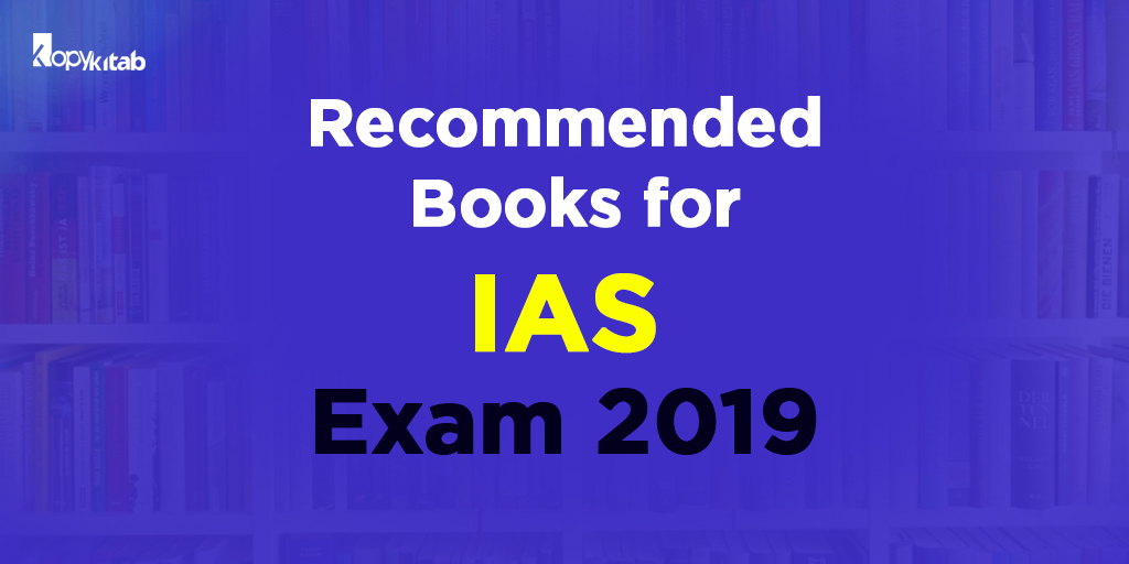 Recommended Books for IAS Exam Preparation 2019