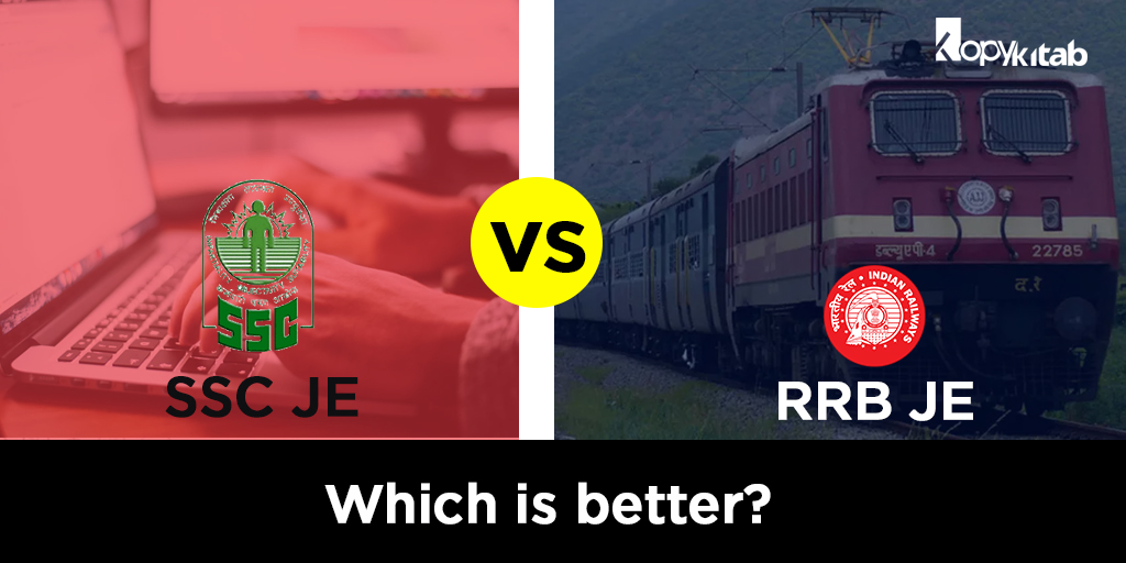 RRB JE vs SSC JE