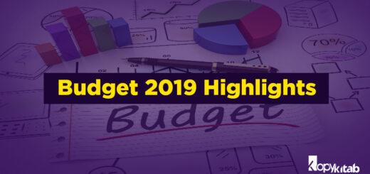 Budget 2019 Highlights