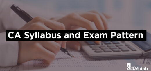 CA CPT Syllabus and Exam Pattern 2019