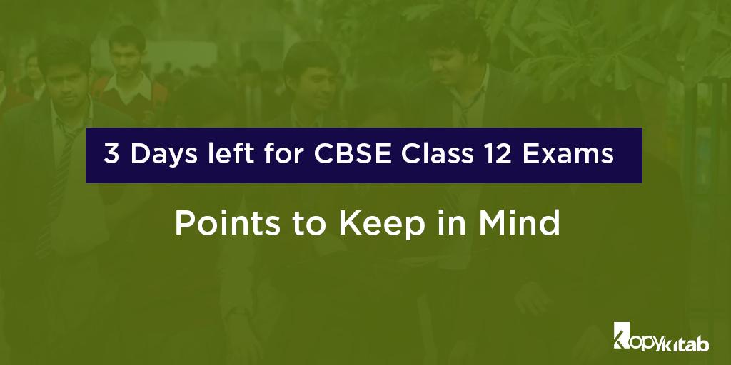 CBSE Class 12 Exams