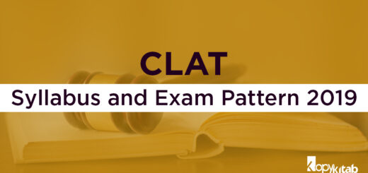 CLAT Syllabus and Exam Pattern 2019
