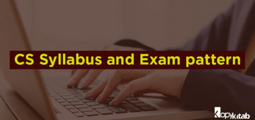 CS Syllabus and Exam Pattern 2019