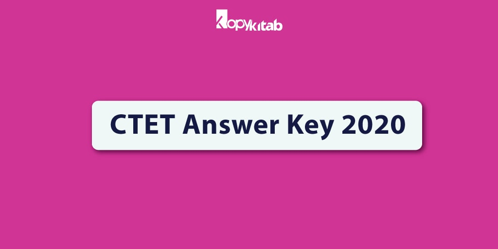 CTET Answer Key 2020