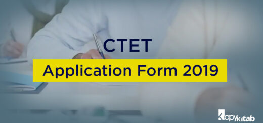 CTET Application Form 2019