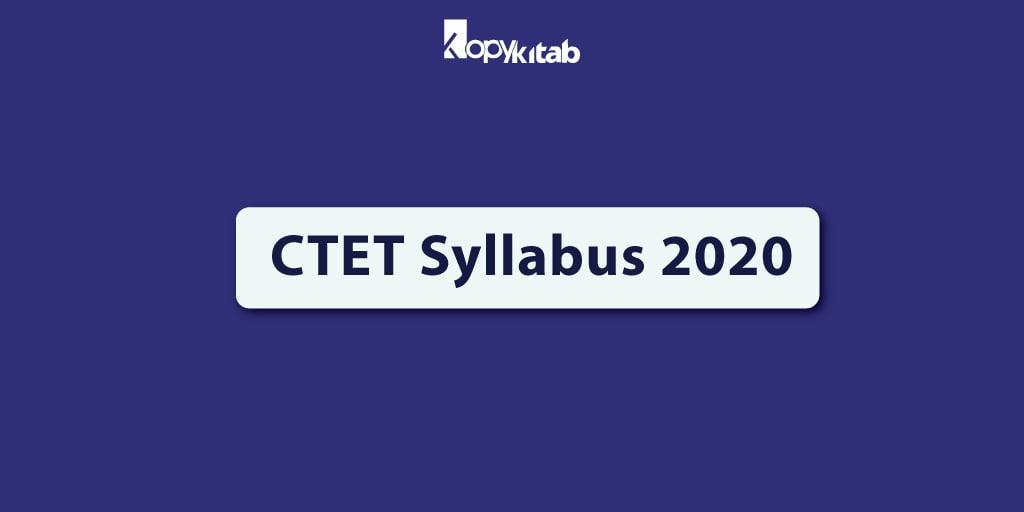 CTET Syllabus 2020