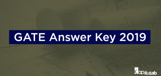 GATE Answer key 2019