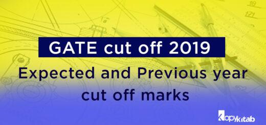 GATE Cutoff 2019