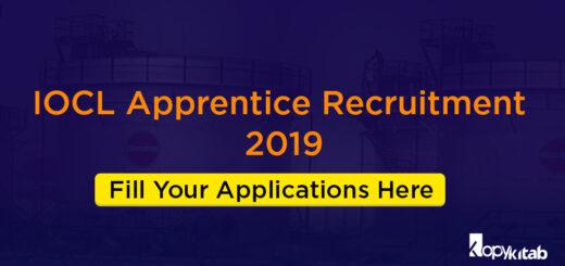 IOCL Apprentice Recruitment 2019
