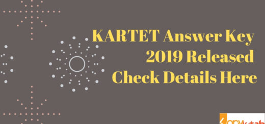 KARTET Answer Key 2019 Released