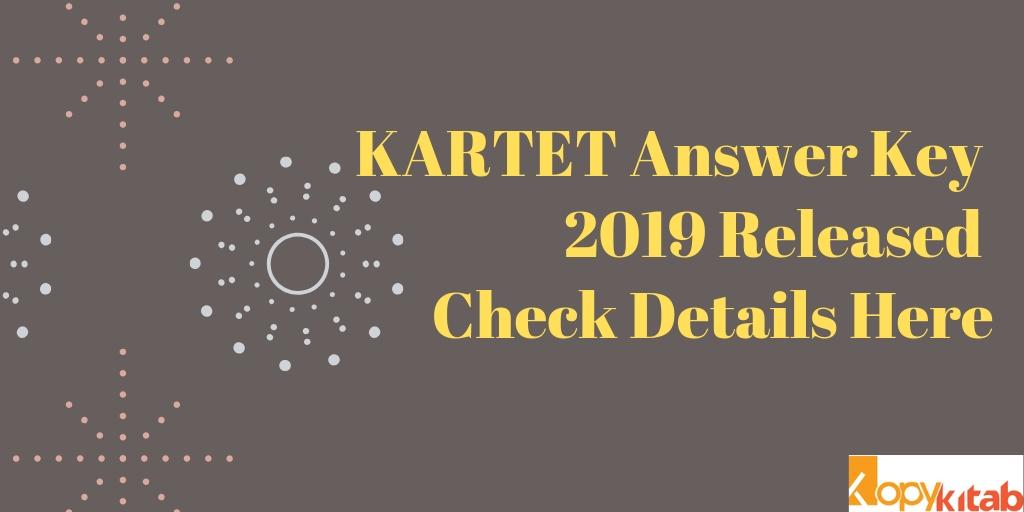 KARTET Answer Key 2019 Released