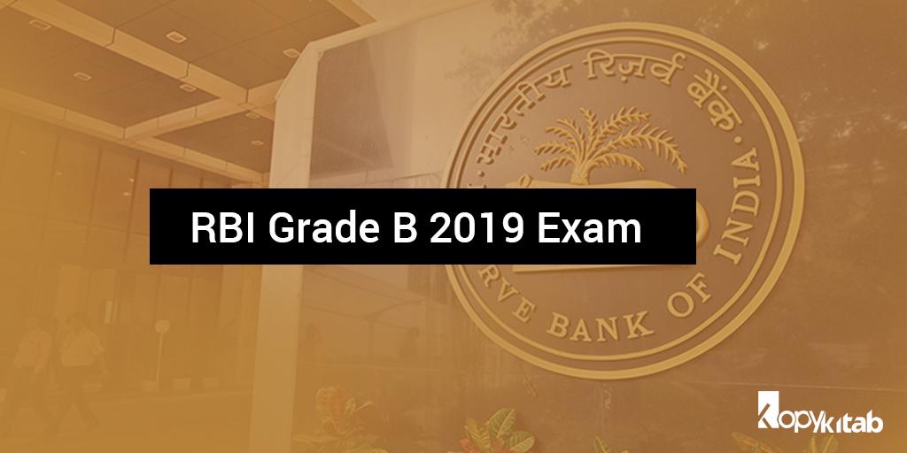 RBI Grade B 2019