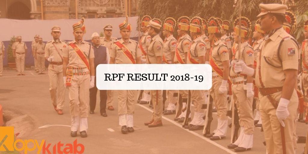 RPF Result 2018-19