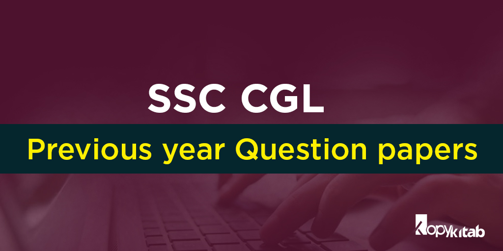 SSC CGL Previous Year Question Paper