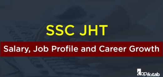 SSC JHT Salary, Job Profile and Career Growth