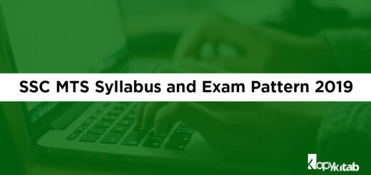 SSC MTS Syllabus and Exam Pattern 2019