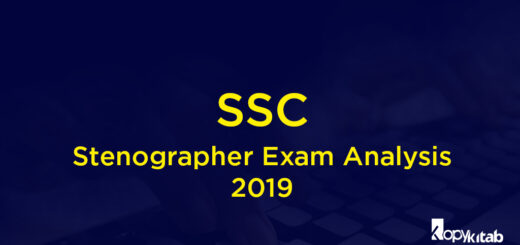 SSC Stenographer Exam Analysis 2019