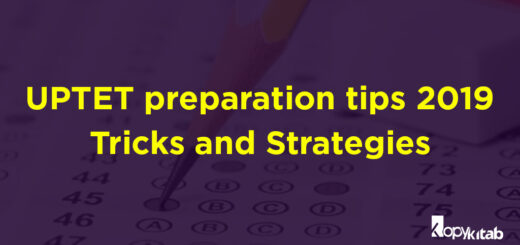 UPTET Preparation Tips 2019