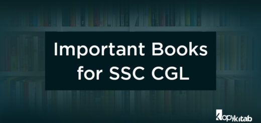 SSC CGL Books