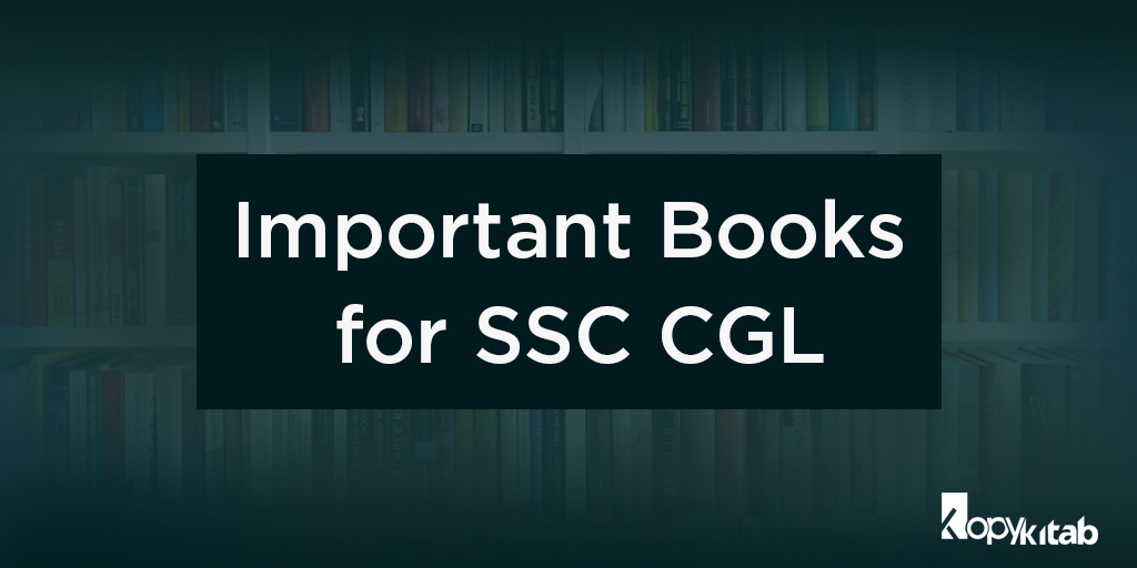 important books for SSC CGL