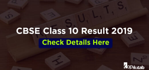 CBSE Class 10 Result 2019 Check Details Here
