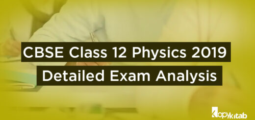 CBSE Class 12 Physics Exam Analysis