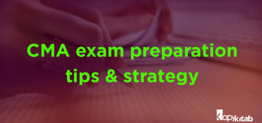 CMA Exam Preparation Tips and Strategy
