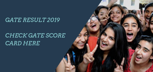 GATE Result 2019 Check Gate Score card Here