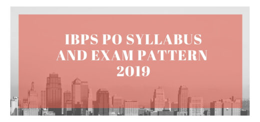 IBPS PO Syllabus and Exam Pattern 2019