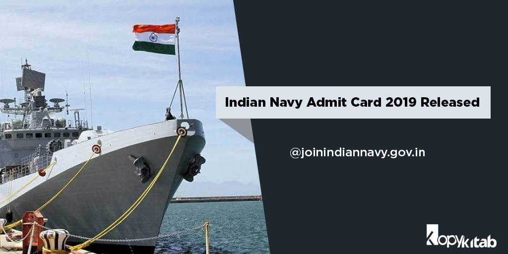 Indian Navy Admit Card 2019 Released