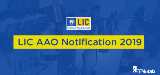LIC AAO Notification 2019