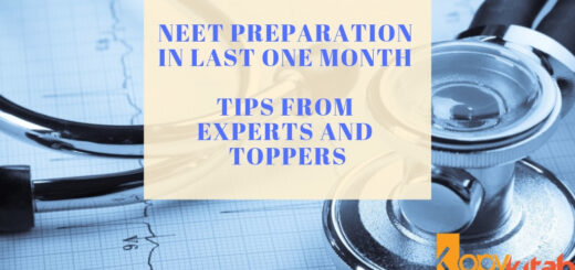NEET Preparation in Last One Month