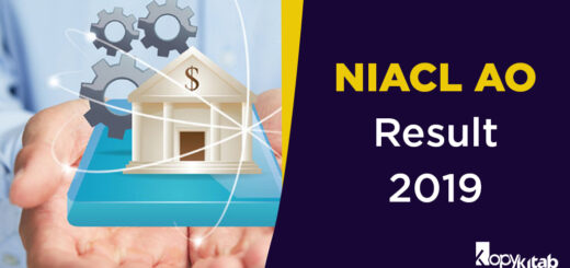NIACL AO Result 2019